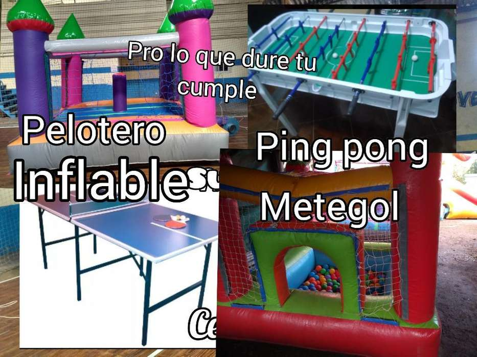 Inflable Y Pelotero