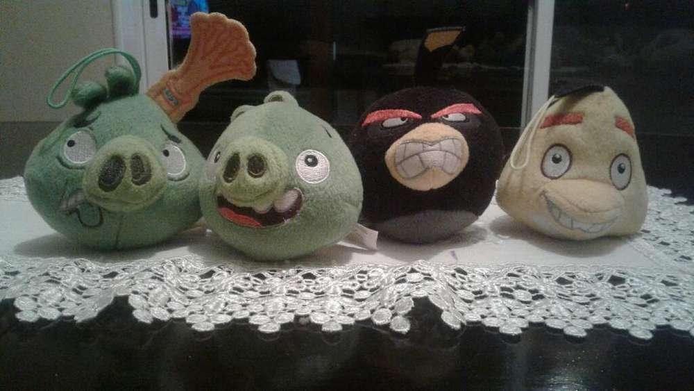 Peluches Colgantes Angry Birds