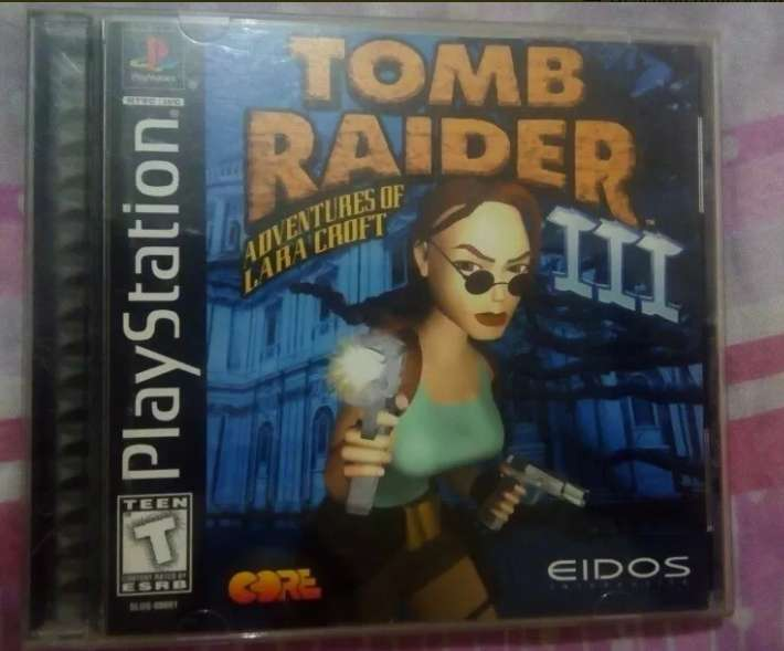 Tomb Raider 3 Para Playstation One Original