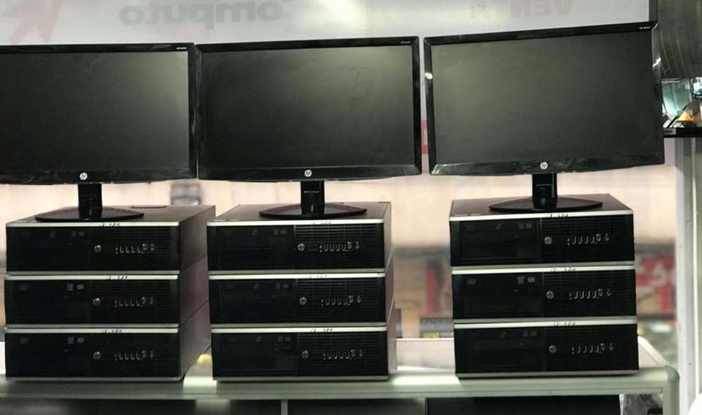 Remate-Computador completo 4 Núcleos Ram4gbdisco 250Lcd19