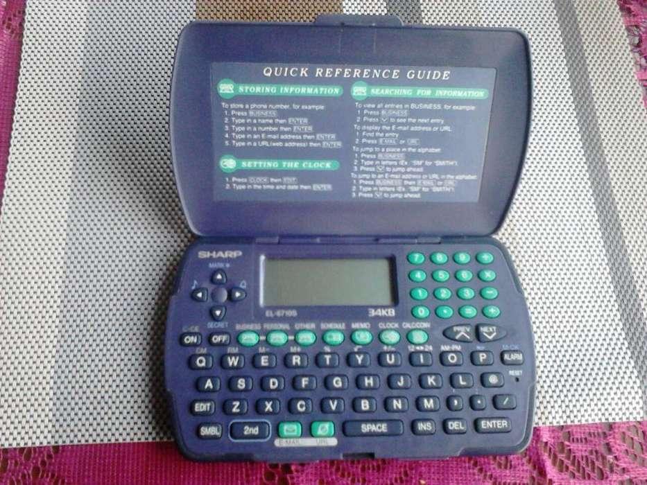<strong>sharp</strong> El6710s 34kb Organizador Electrónico DE REMATE !!!