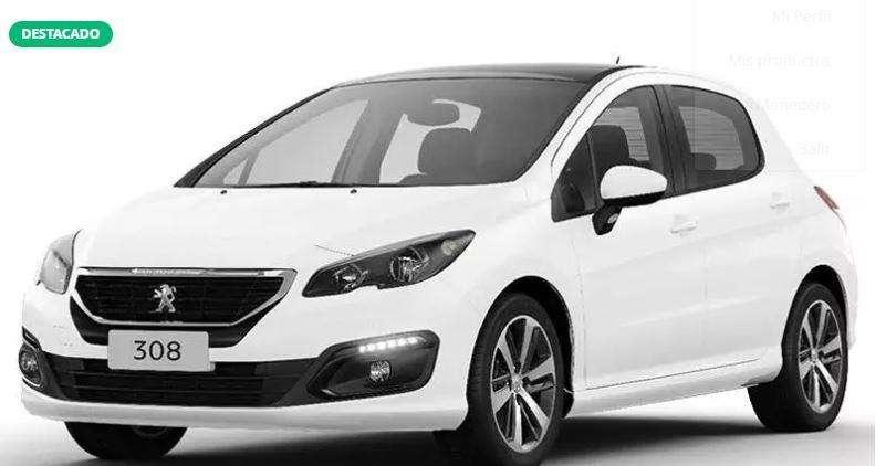 Peugeot 308 2016 - 10989 km