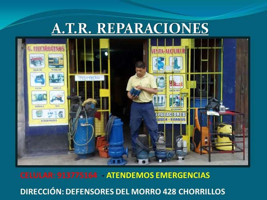 MANTENIMIENTO, REPARACIÓN Y ALQUILER DE BOMBAS SUMERGIBLES, LAPICEROS, JOCKEY, SERVICIO TÉCNICO EN LIMA-913775164