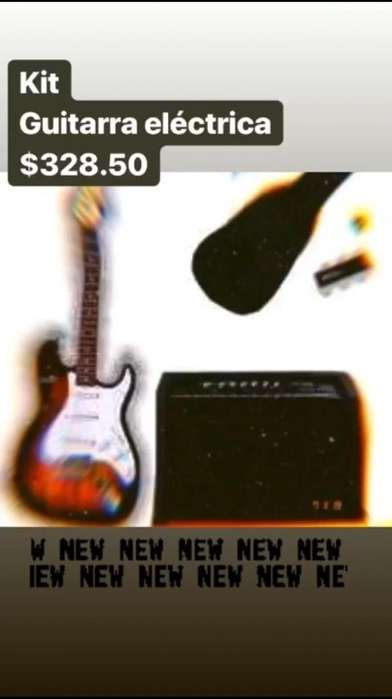 Kit Guitarra Electrica