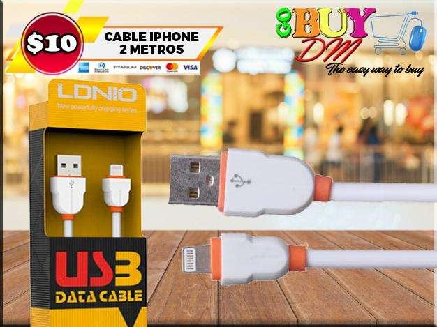 Cable Iphone de 2 metros LDNIO LS02