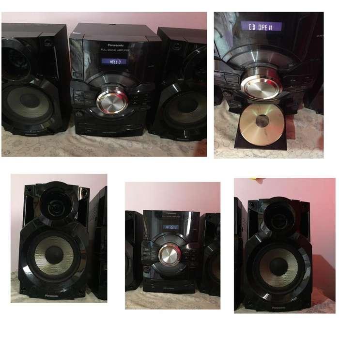 Equipo de Música Panasonic