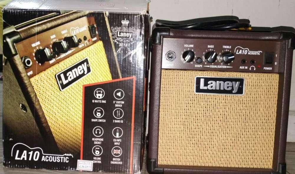 Amplificador Laney LA10 Para Guitarra Acustica
