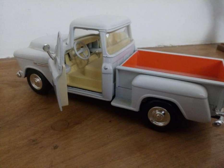 chevrolet 1955 pick up escala 1/24
