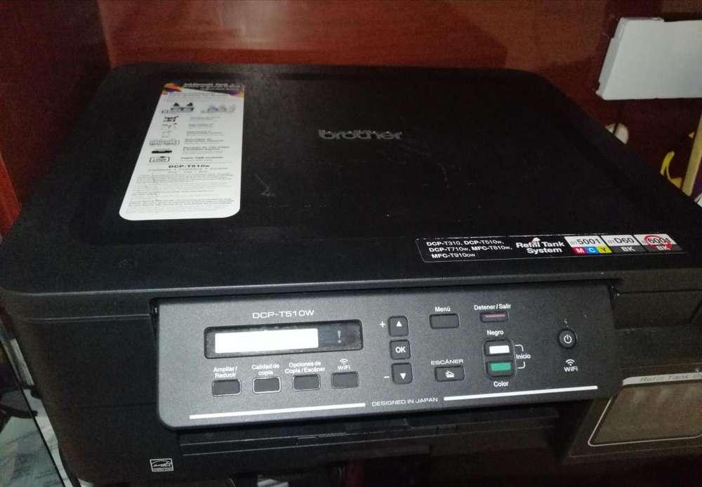 Impresora brother dcpt510w comprada hace 3 meses