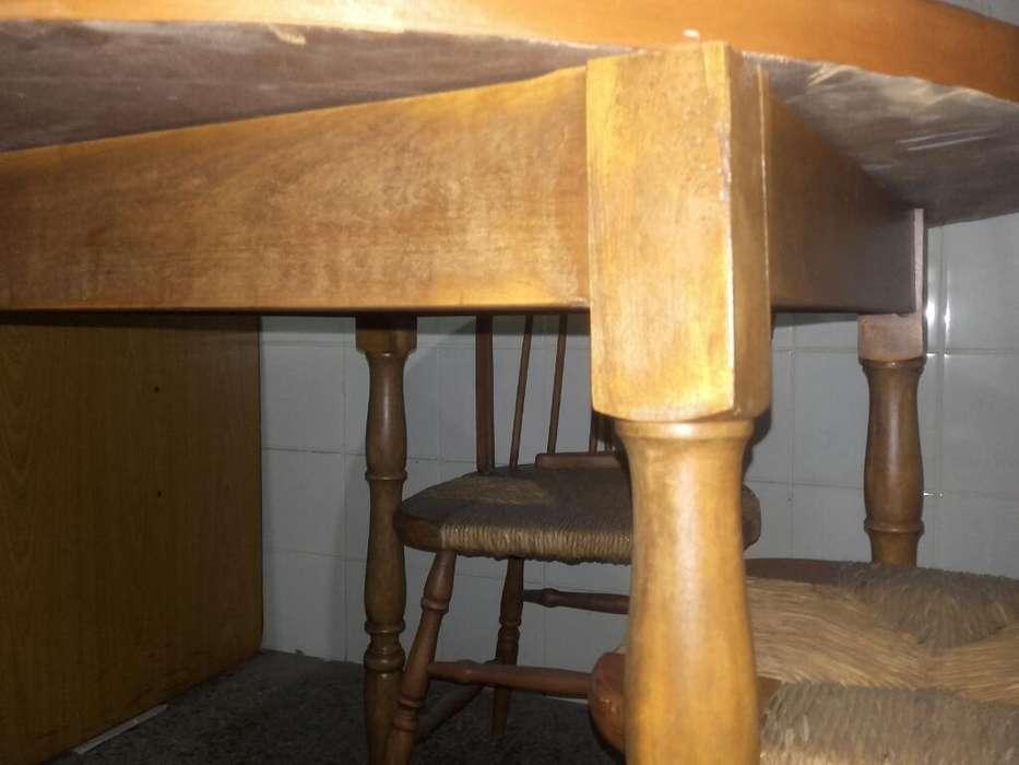 Mesa Y <strong>silla</strong>s Torneadas.