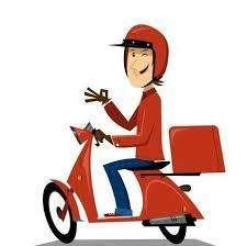 Cobrador con Moto