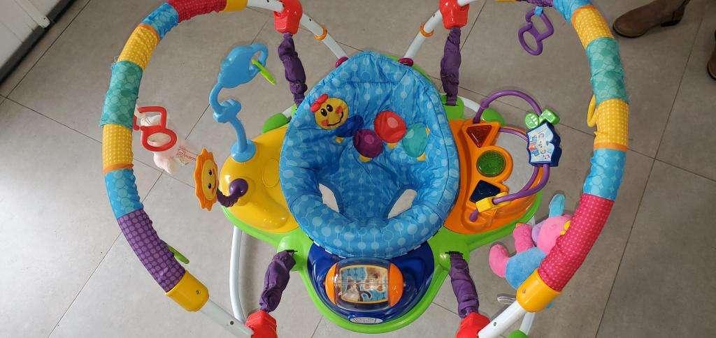 Jumper Centro Actividades Baby Einstein Impecable