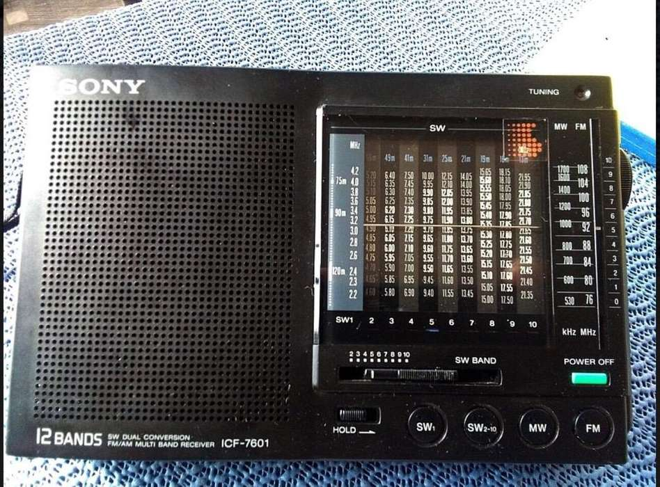 Sony Icf 7601
