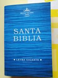 Biblias RVR1960, letras GRANDES y letras GIGANTES.