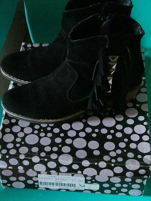 Botas de Cuero N37