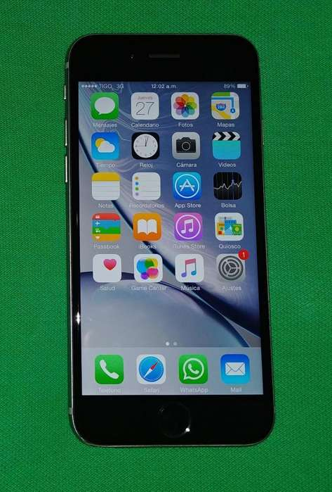 iPhone 6 Space Gray Liberado 64gb Nitido