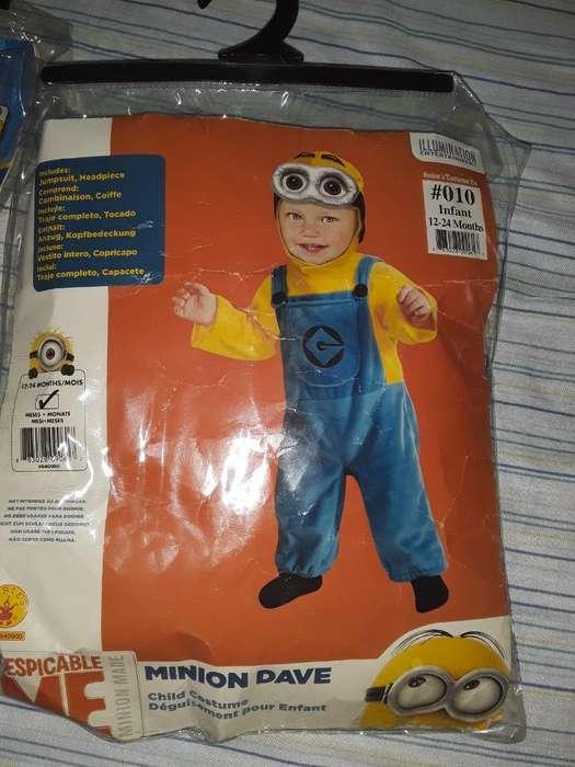 Disfraz D Minions para Niño