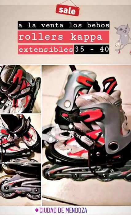 Rollers Kappa Extensibles 35 -40