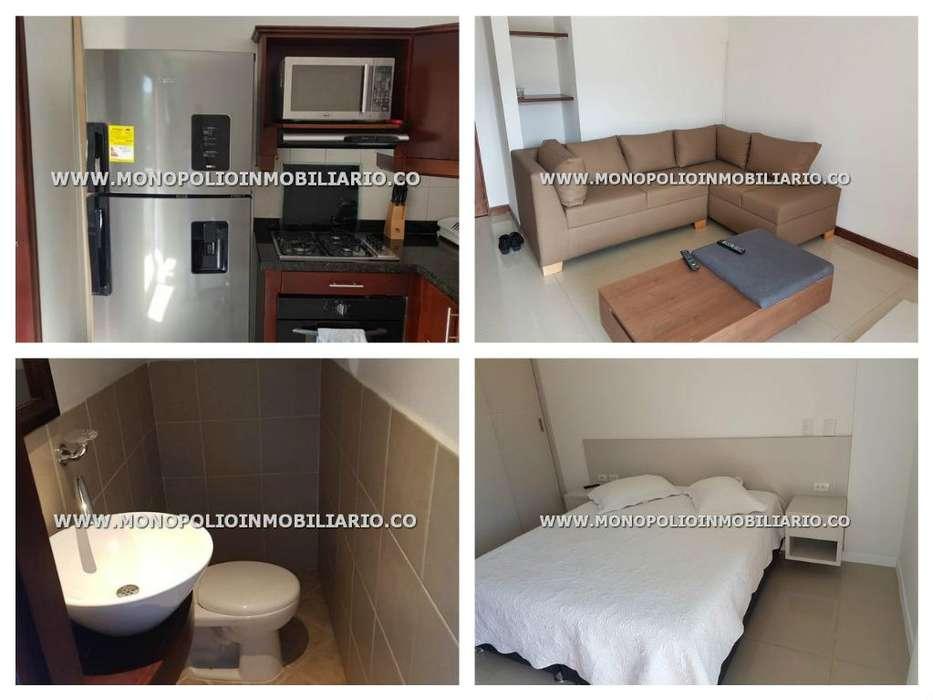 rento apartamento amoblado en el poblado código 17156