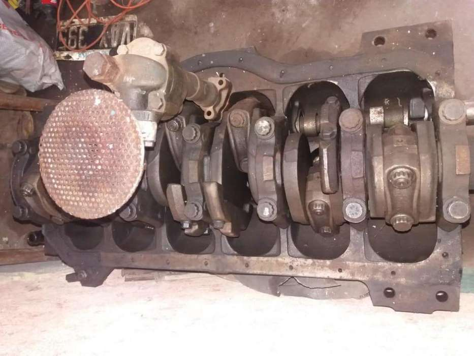 Block semiarmado de Mercedes Benz 1114