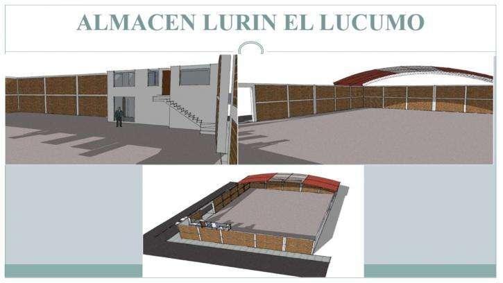 LOCAL INDUSTRIAL IDEAL ALMACEN O TALLER EN LURIN