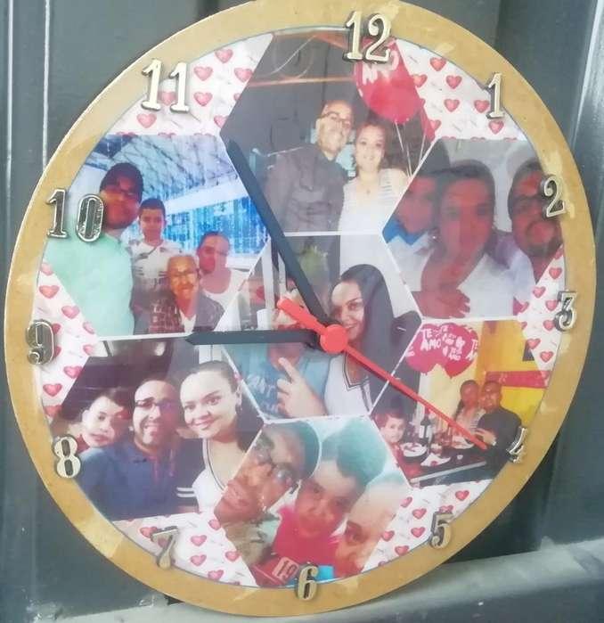 Relojes Y Posillos Personalizados