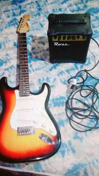 Guitarra Electrica Amplificador