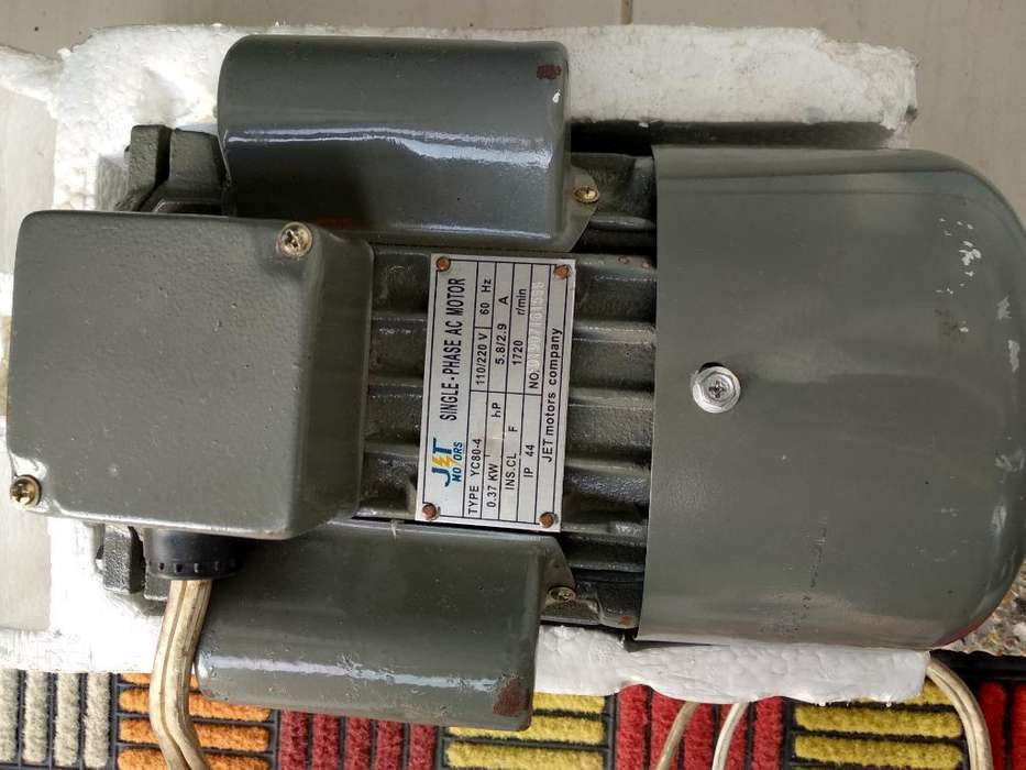 Motor Monofásico 1 Hp 1720 Rpm