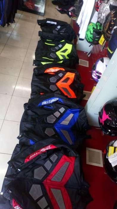 Chaqueta para moto varios colores