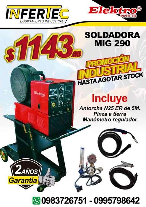 SOLDADORA MIG 290