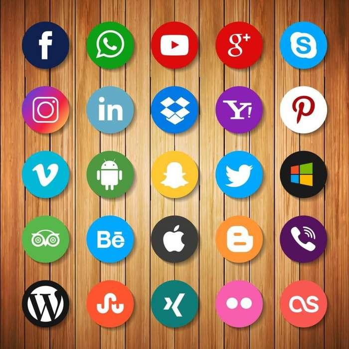 Manejo de redes sociales nivel empresa.