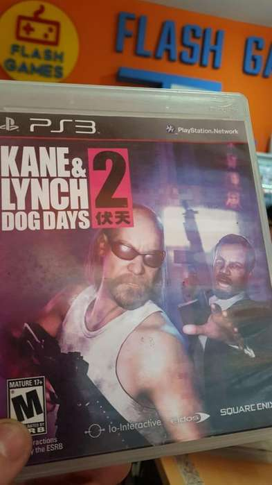 Kane & Lynch 2. local céntrico. recibo tarjetas. garantía. juegos play 3 físico usado ps3