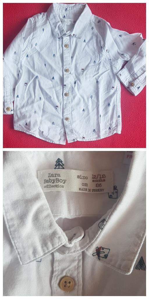 Camisa Baby Zara