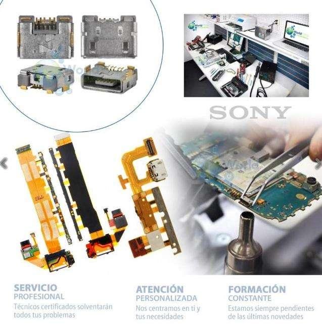 Microfono Pin Plu Sony Xperia C5 X Xa Ultra Xz Xa1 L1 Zr E5 Z