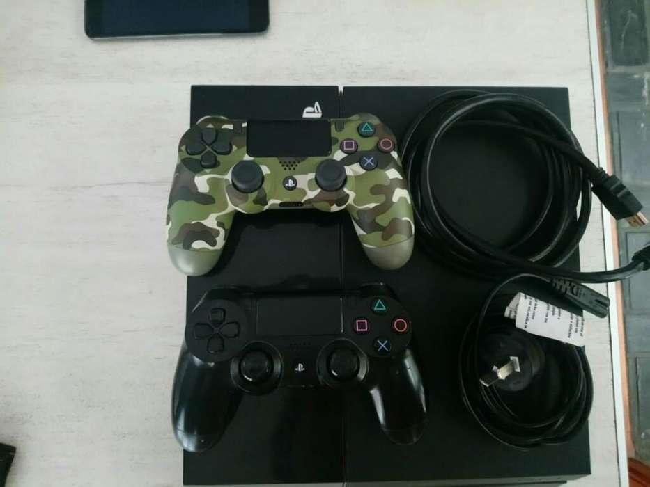 <strong>play</strong> 4 500gb 4 Juegos Y Dos Controles