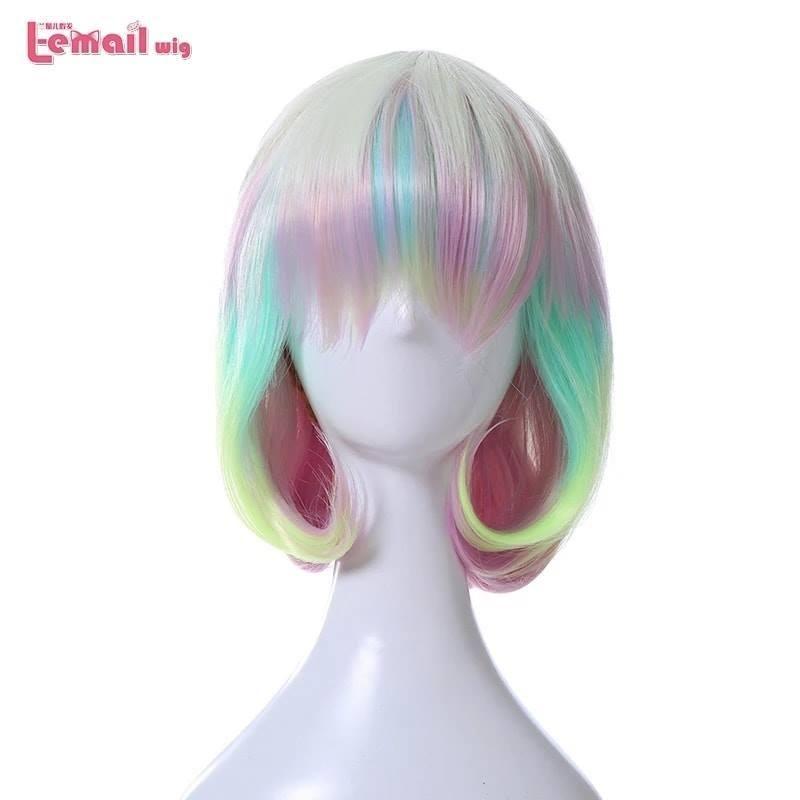 peluca diamond houseki no kuni dia land of lustrous colores cosplay disfraz anime
