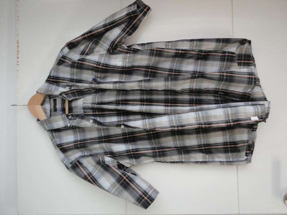 <strong>camisa</strong> Mangas Corta Talle M