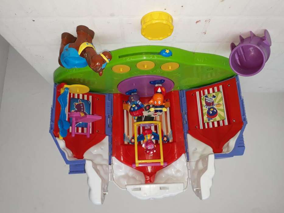 Circo-casa Musical De Backyardigans (Fisher Price)