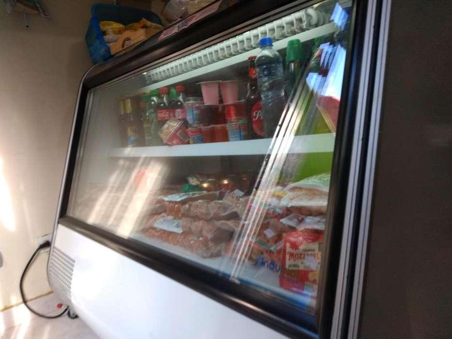 Vitrina Refrigerante Y Congelador Indufr