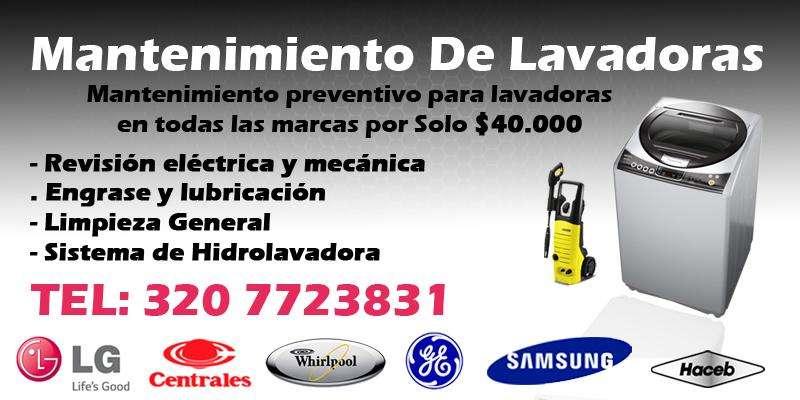 Mantenimiento De Lavadoras Pereira