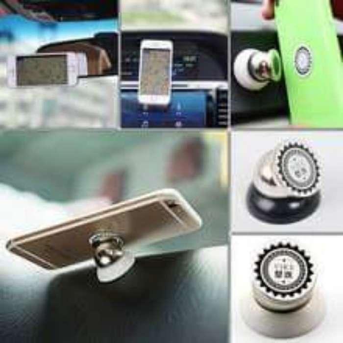 Soporte para celular magnético 360º para auto