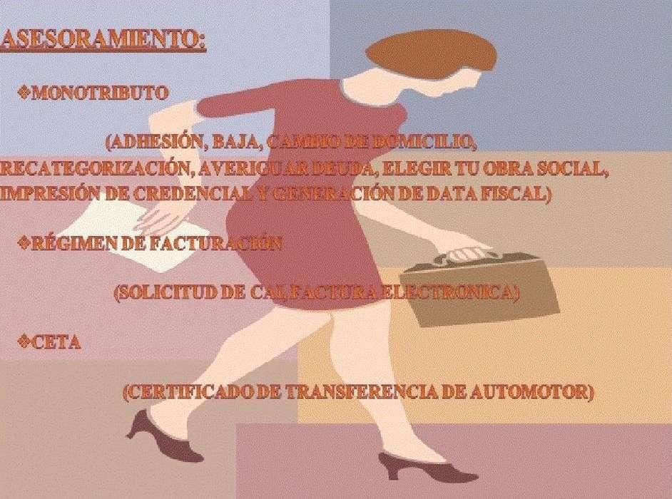 JUBILACIONES Y ASESORAMIENTO A MONOTRIBUTISTAS