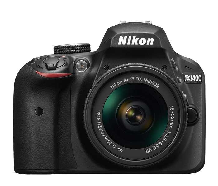 Camara Nikon D3400 Con Lente 1855mm Con Bluetooth Nueva con 12 meses garantia