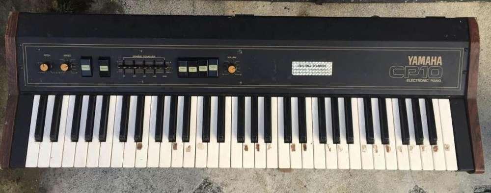 Antiguo Piano Electrico Yamaha Cp10 1970 Ajuste Mant. Usado