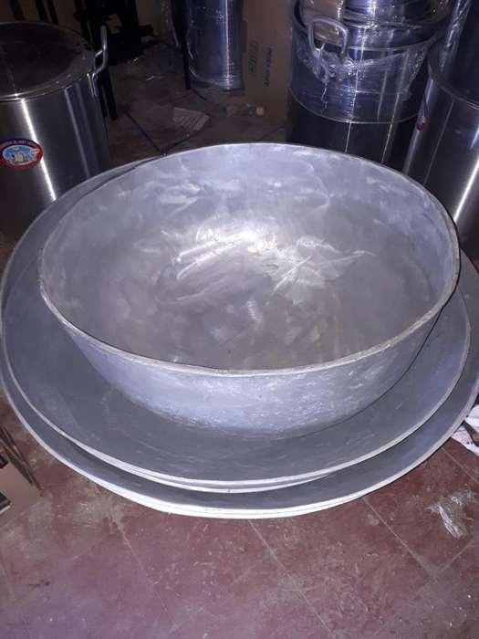 Paila O Fondo de Aluminio