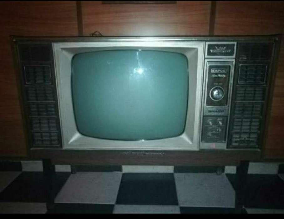 Televisor Antiguo Funciona
