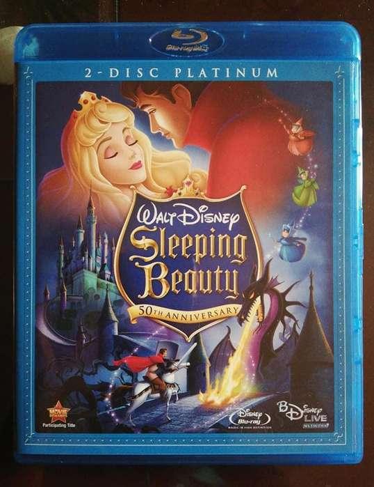 La bella durmiente Blu-Ray 1080p Edicion Platinum 50 Aniversario