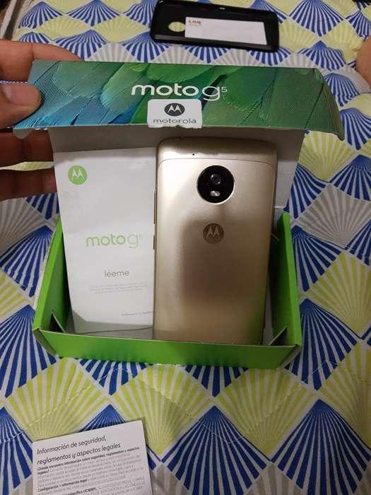 Vendo Motorola G5 de 32g