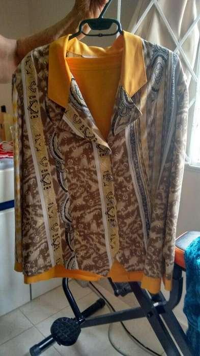 Vestido Lino Seda