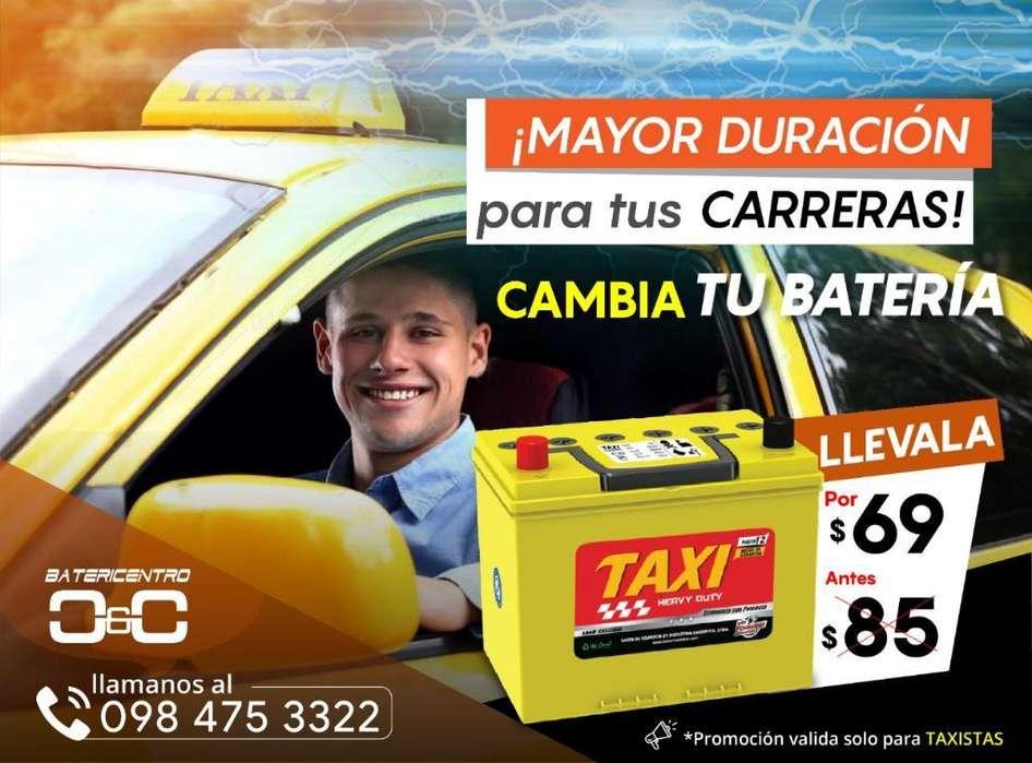 Batería Pará Taxi